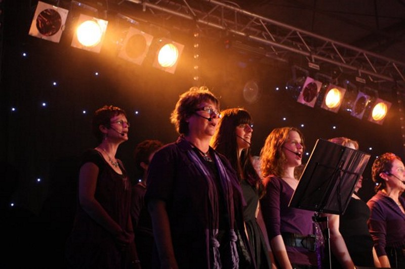 Foto-album van zanggroep Musical Voices